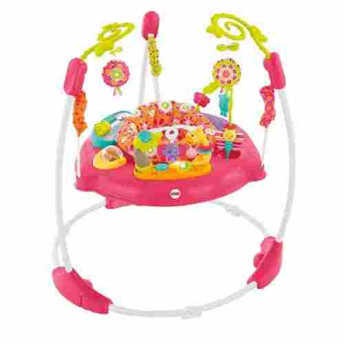 fisher-price pink petals jumperoo infant & baby jumper and bouncer
