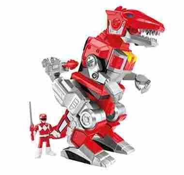 Fisher-Price Imaginext Red Ranger and T-rex Zord