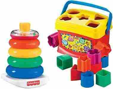 Rock-a-Stack and Baby's 1st Blocks Bundle
