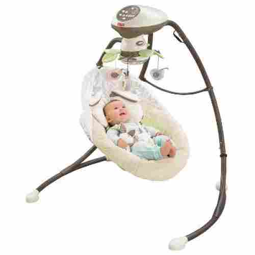 Fisher-Price Sweet SnugaBunny Smart Swing