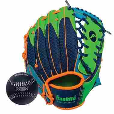 Teeball Left Hand Glove with Baseball