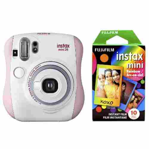 Fujifilm Instax Mini 26 + Rainbow Film