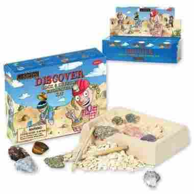 Rock and Crystal Excavation Dig Kit by GeoCentral