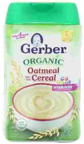 Organic Single-Grain Oatmeal