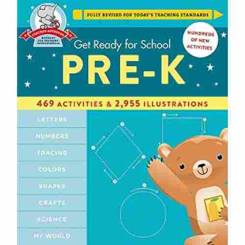 get ready for school educational book cover