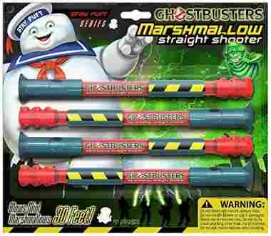 GhostBusters Straight Shooter Marshmallow Shooter