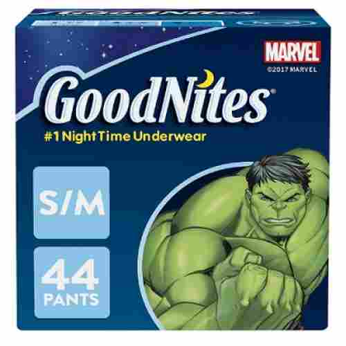 goodNites bedtime bedwetting overnight diapers