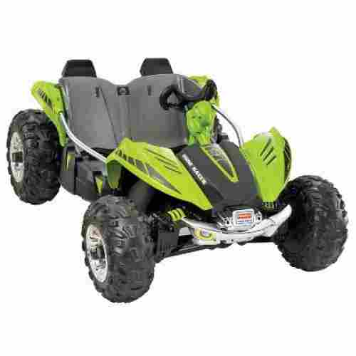 green dune racer electric cars for kids