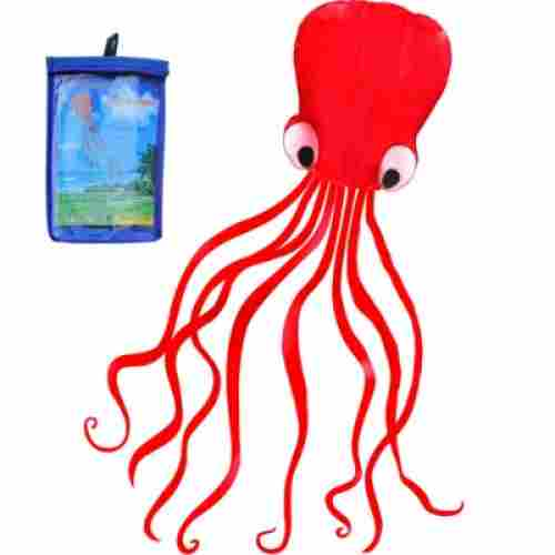Red Octopus Flyer Kite