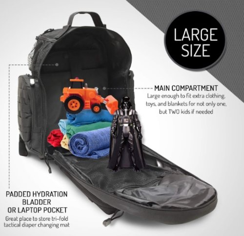 HighSpeedDaddy Insulated Pockets large compartment