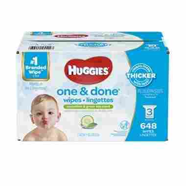 HUGGIES One & Done Scented