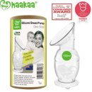 haakaa suction base 100% food grade breast pump for mums