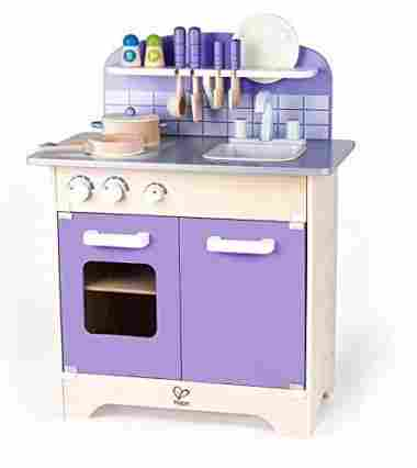 hape wood kids play kitchen - Play Kitchen