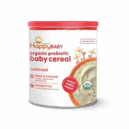 happy baby probiotic pack of 6 organic baby cereal