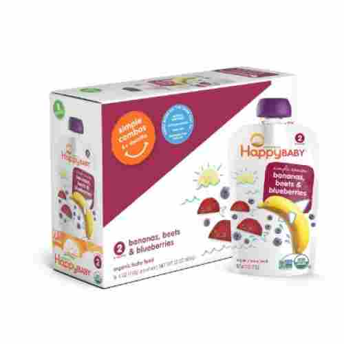 happy baby organic baby food pack