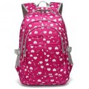 Hearts Print School Backpacks