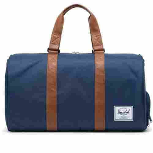 herschel duffel hospital bag blue