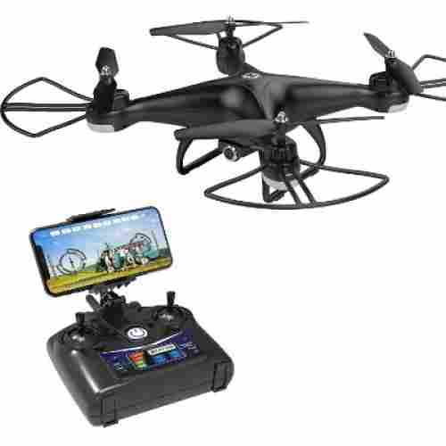 holy stone HS110D FPV RC drone flying toys