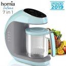 homia infano 7-in-1 baby food processor design