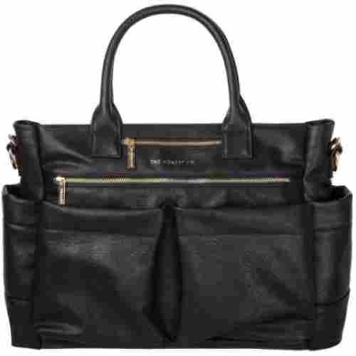 honest company everything tote hospital bag black
