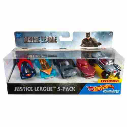 Hot Wheels Justice League 5-Pack