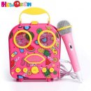 howQ handbag system kids karaoke machine