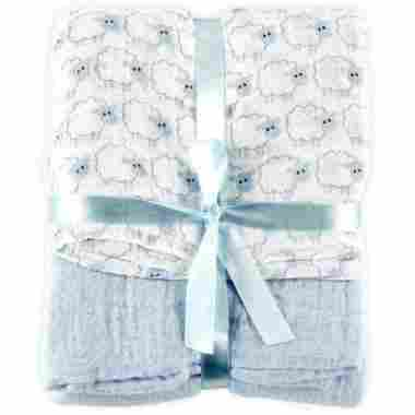 Muslin Swaddle Blanket by Hudson Baby