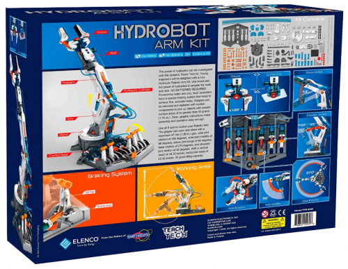 Hydraulic Robot Kit Box Back