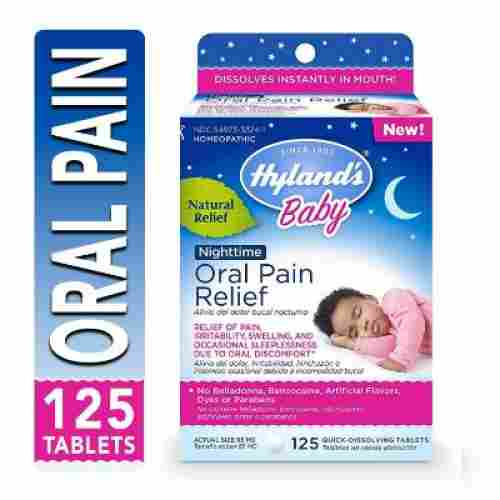 Hyland's Nighttime Oral Pain Relief Tablets