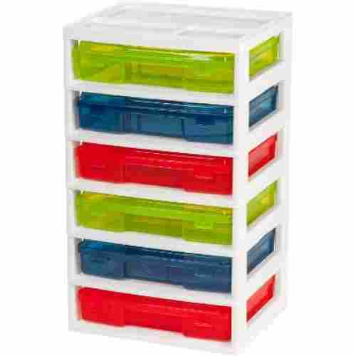 iris 6-case activity chest lego storage container display