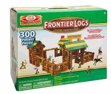 300 Piece Classic Wood Construction Set