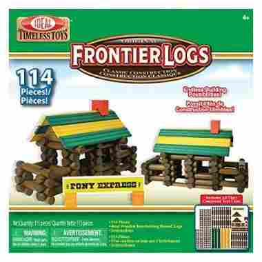 best lincoln logs knex house