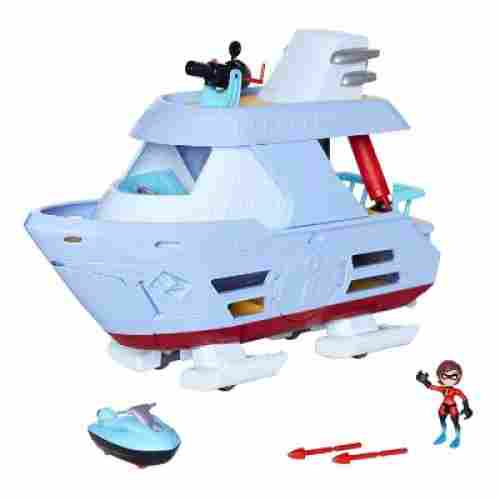 incredibles hydroliner action playset