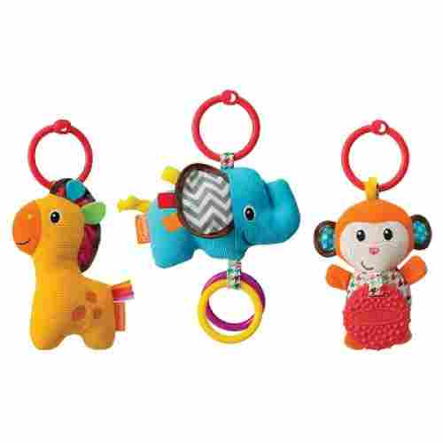 Infantino Tag Along Travel car seat toy hanging toy