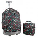 J World New York Kids' Rolling Backpack