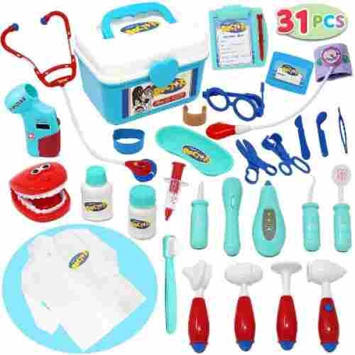 joyin 31 pieces dentist kids doctors kit pieces