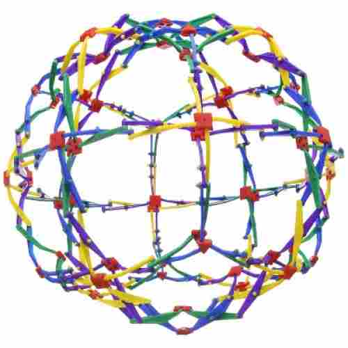 Mozlly Value Pack - Hoberman Original Rainbow Transforming Sphere