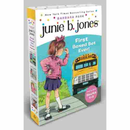 junie b. jones's first boxed set ever books for 7 year olds cover