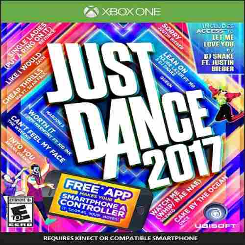 just dance 2017 xbox one games for kids
