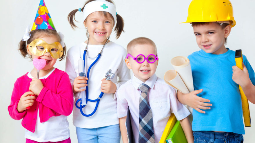 How Dress-up Play Encourages The Arts in Kids