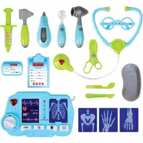 KPretend Doctor Kit with Light Up X-Ray Machine