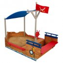 KidKraft Pirate Boat plastic sandbox
