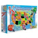 united states of america 55 pieces jigsaw puzzle for kids box