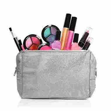 Washable Makeup Set with a Glitter Bag
