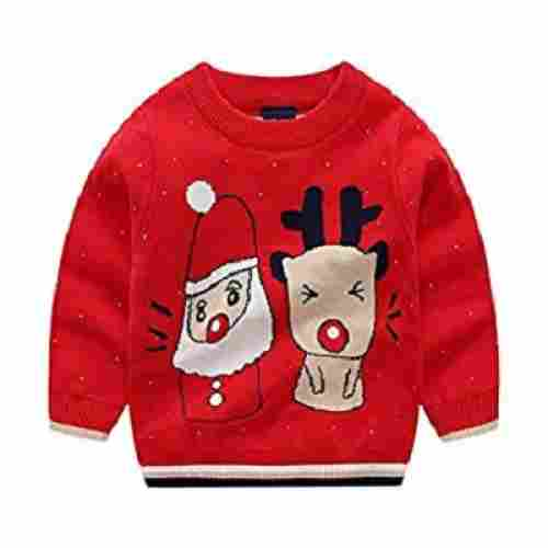 kintaz deer snowman christmas sweater design