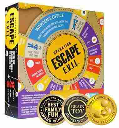 ESCAPE EVIL Fun Educational Board Games by Kitki