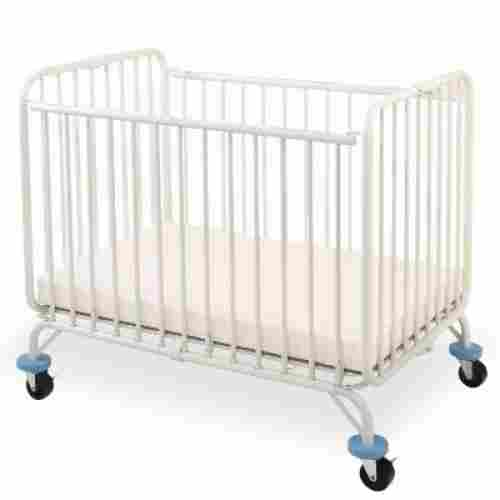 l.a baby deluxe folding metal portable cribs display