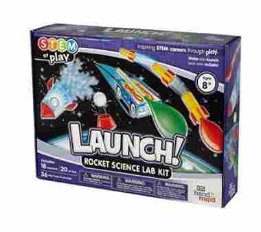 LAUNCH! Rocket Science Kit with 18 Experiments