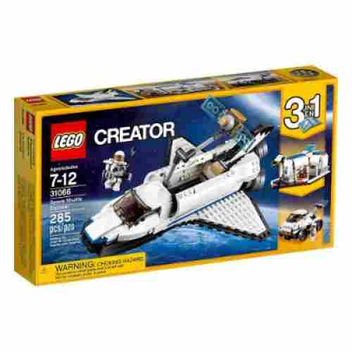 space shuttle explorer cool lego set for kids box