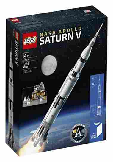 Ideas Nasa Apollo Saturn V 21309